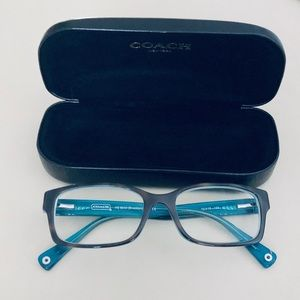 Coach Brooklyn Eyeglass Frames and Case